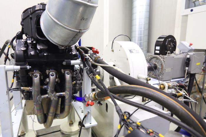 engine dyno room