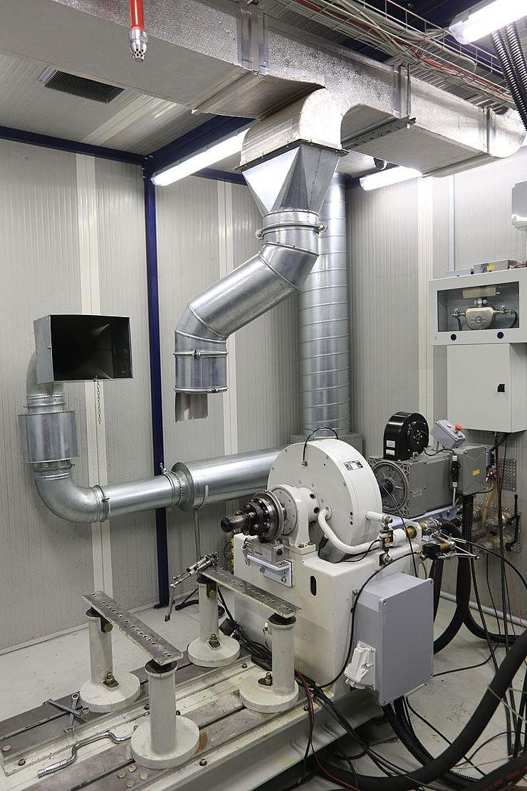 dyno room REengineering engine testing